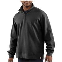 Men's Carhartt® Workwear Sweater Knit Quarter-zip Shirt, Black