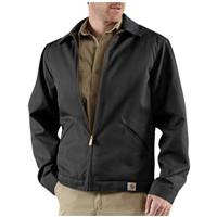 Men's Carhartt® Workwear Twill Work Jacket, Black