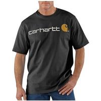 Men's Carhartt® Work Clothes Logo T-shirt, Black