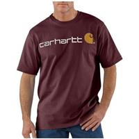 Men's Carhartt® Work Clothes Logo T-shirt, Port