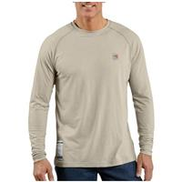 Men's Carhartt® Flame-resistant Force™ Long-sleeve T-shirt, Sand