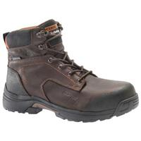 Men's Carolina® Dark Brown 6 inch Lightweight Composite Toe Work Boots, Dark Brown