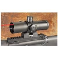 VISM® CBT Series 3x42mm Prismatic Rifle Scope with Laser