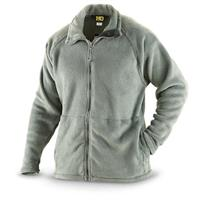 HQ ISSUE Polartec Gen III Military Surplus Fleece Jacket, Foliage