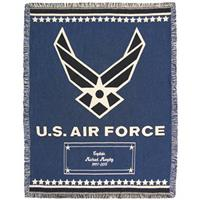 A Plus Marketing™ Air Force Wings Throw
