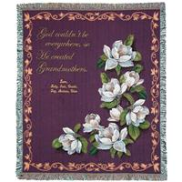 A Plus Marketing™ Grandmother Magnolia Tapestry Throw