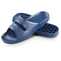 Men's New Italian Military-issue Slide Sandals, Blue