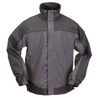 5.11 Tactical® TacDry Rain Coat Shell, Charcoal