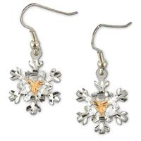 Landstrom's® Black Hills Gold Snowflake Earrings