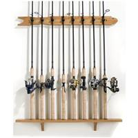 Organized Fishing 8-Rod Modular Wall Rod Rack