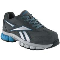 Women's Reebok® Composite Toe Cross Trainers, Dark Gray / Blue