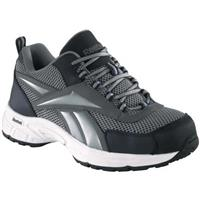 Men's Reebok® Steel Toe Cross Trainers, Gray / Navy