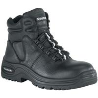 "Men's Reebok® 6"" WATERPROOF / Composite Safety Toe / Puncture Resistant Sport Boots, Black"