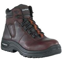 Women's Reebok 6 inch Composite Safety Toe Sport Boots, Dark Brown
