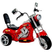 Lil' Rider™ Red Rocking Three-Wheel Chopper Motorcycle