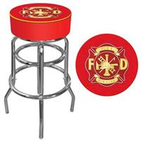Heroes Padded Bar Stool, Fire Fighter