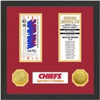 Kansas City Chiefs Super Bowl Championship Ticket Collection