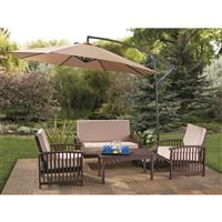 CASTLECREEK 10 foot Cantilever Patio Umbrella, Aluminum Pole