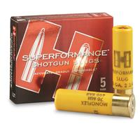 "Hornady Superperformance, 20 Gauge, 2 3/4"" Shotgun Slugs, 5 Rounds"