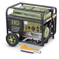 HQ ISSUE 4000 Watt Portable Gas Generator with Electric Start