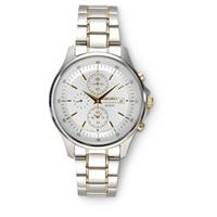 Seiko® Chronograph Watch, Gold / Stainless