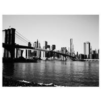 """Brooklyn Bridge III"" Canvas Art by Ariane Moshayedi"