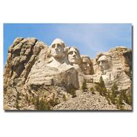 """Mount Rushmore"" Canvas Art by Ariane Moshayedi"