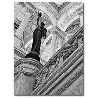 """Library of Congress-Great Hall"" Canvas Art by Gregory Ohanlon"
