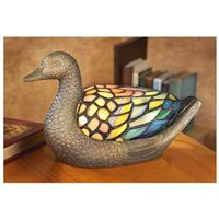 Tiffany-style Duck Accent Lamp