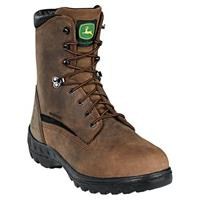 Men's John Deere® 8 inch WCT Waterproof Steel Toe Work Boots