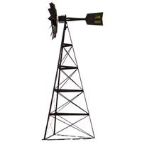 Outdoor Water Solutions 20 foot Pheasants Forever Bronze Powder-Coated 3-Legged Windmill