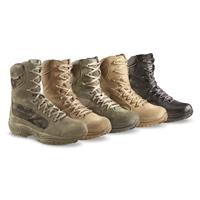 Reebok Men's ERT Tactical Boots, Waterproof • FROM Left to Right: Coyote, Sage, Desert and Black