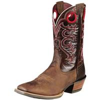 Men's Ariat® 11 inch Crossfire Cowboy Boots, Brown