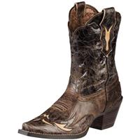 Women's Ariat® 9 inch Dahlia Cowboy Boots, Brown