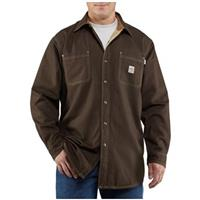 Men's Carhartt® Flame-resistant Canvas Shirt Jacket