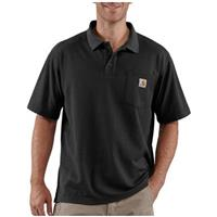 Men's Carhartt® Contractor's Work Pocket™ Polo, Black