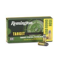 Remington, .44 S&W, Lead RN Target Pistol/Revolver Rounds, 246 Grain, 50 Rounds