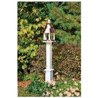 Good Directions Bell Bird Feeder with Copper Roof