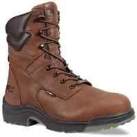 Men's 8 inch Timberland Pro® TiTAN® Waterproof Safety Toe Boots, Cappuccino