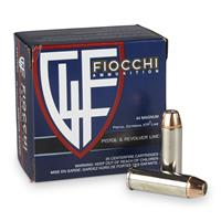 Fiocchi Extrema, .44 Remington Magnum, XTPHP, 240 Grain, 25 Rounds