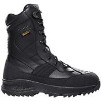 Men's LaCrosse® 10 inch 1,000 gram Thinsulate™ Ultra Insulation Non-metallic Toe Pac Work Boots, Black