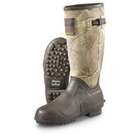 "Guide Gear Men's  15"" Rubber Boots, 400 Gram Thinsulate, Realtree AP Camo"