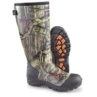 Men's Guide Gear Non-insulated Rubber / Neoprene Universal Hunting Boots, Mossy Oak Infinity®