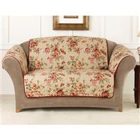 Sure Fit® Lexington Floral Loveseat Pet Cover