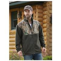 Habit 300 Gram Soft Shell Fleece Jacket, Realtree Xtra Nightforest