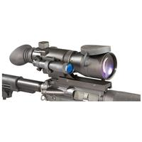 Armasight™ Night Vision 4X Gen 1+ Long Range Rifle Scope, Matte Black • Integrated Mount