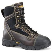 "Men's Carolina® 8"" Waterproof Fire-resistant Internal Metguard Work Boots"