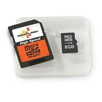 Maxflash® 8GB Micro SDHC Memory Card with Adapter