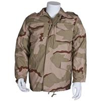 Fox Tactical™ M65 Field Jacket with Line, 3-Color Desert Camo