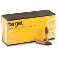 ELEY, .22LR, LRN, 40 Grain, 50 Rounds